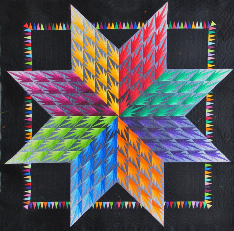 Lessa siegele quiltmaker outstanding australian for Star fabric australia
