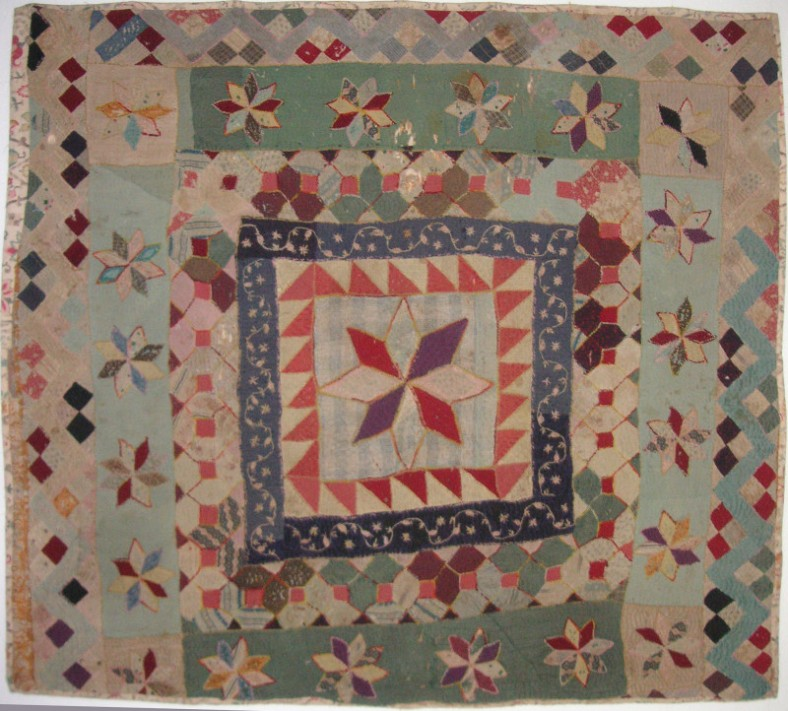 Margery's Quilt, owned by Jan Smith and passed down through the family.