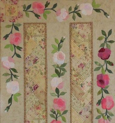 Antique Tea Roses detail 1