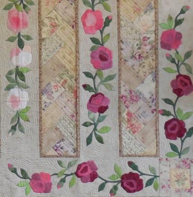 Antique Tea Roses detail 2