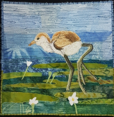 2 Sew Textiles - Life amongst the Lilies