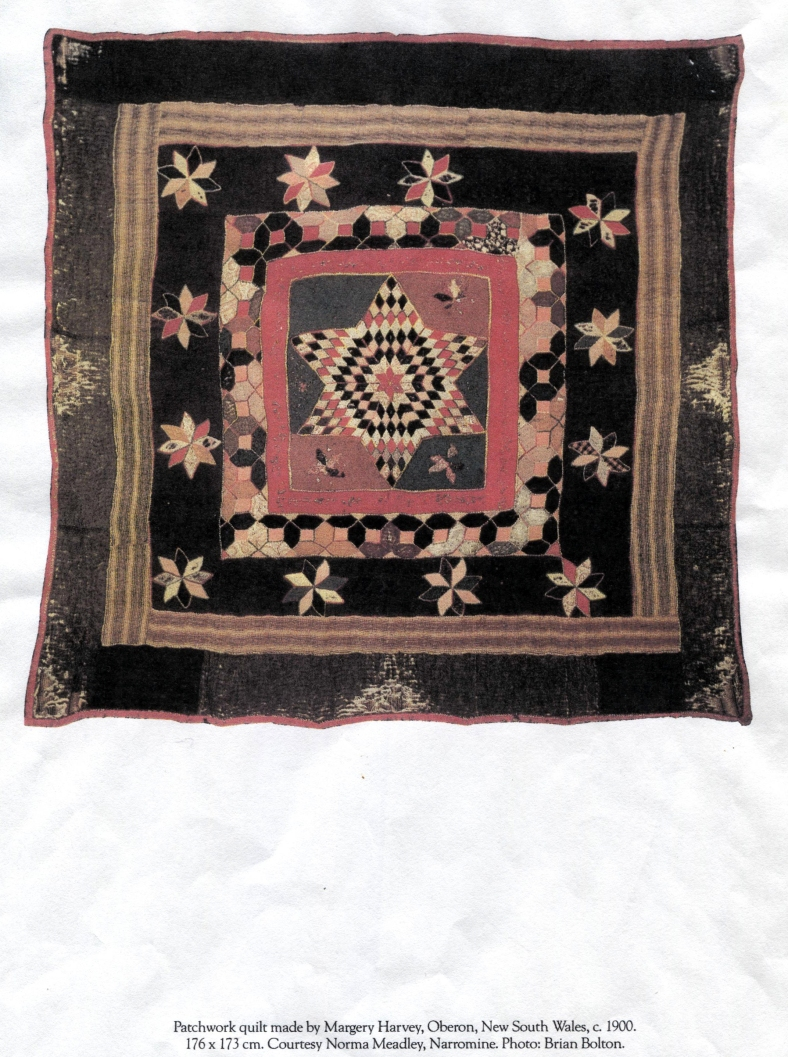 Margery Harvey Historical Antique quilt C1900