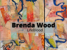 Brenda Wood Lifeblood Brisbane Textile art