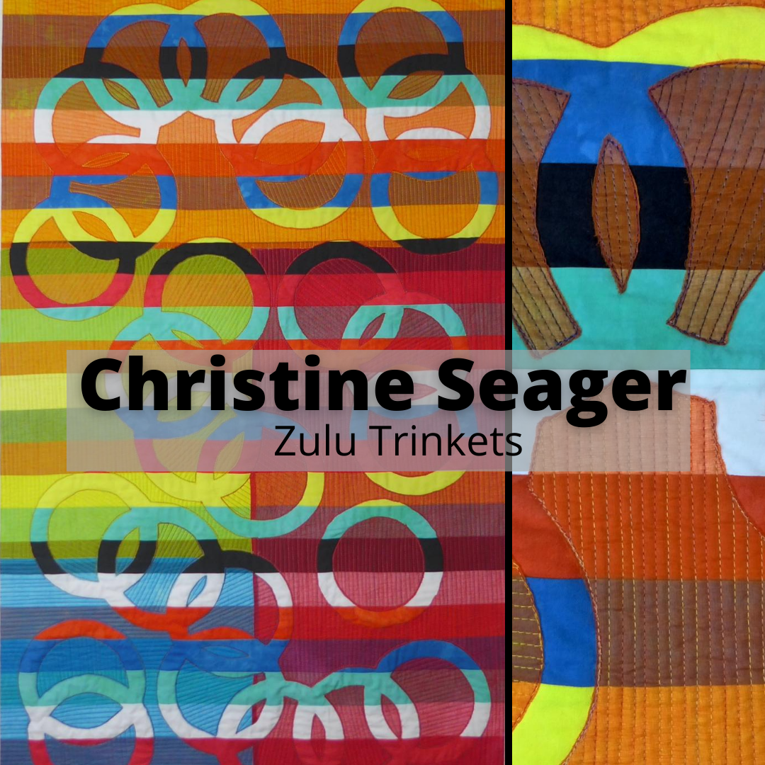 Artist Spotlight – Christine Seager -Magic Carpet – Online International Art Exhibition| Addicted 2 Fabric